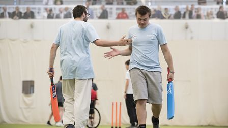 The Super 1s project brings young people with disabilities in to cricket. Picture: Lords Taverners.