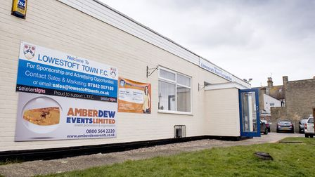 Lowestoft Town FC's home ground. Picture: Nick Butcher