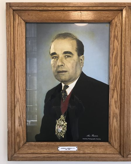 Lou Sherman, who was Mayor of Hackney from 1961-62.