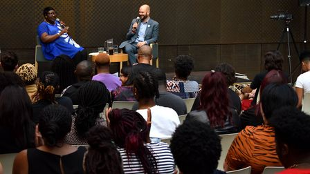 Mayor Phil Glanville in conversation with the co-founder and executive director of UK Black Pride at
