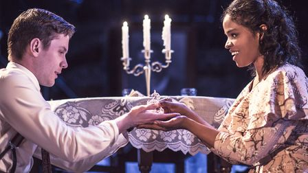 The Glass Menagerie at Arcola Theatre. Picture: Idil Sukan.