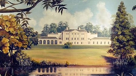 The Kenwood House painting by Kate Lovegrove. It once hung on the walls of Hampstead's McDonald's.