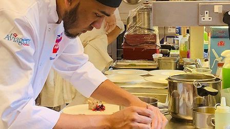 Siven Jr Pillay has been crowned the British Poultry Awards Student Chef of the Year