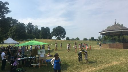 A sunny Heath Hands Community Festival in 2018. Picture: Heath Hands