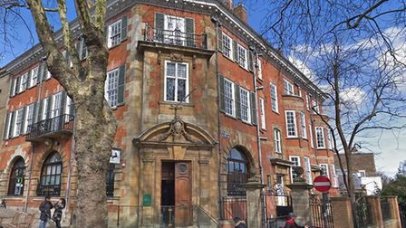 The historic Rosslyn Hill branch of Lloyds, set to close this August. Picture: Google
