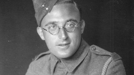 Alexander Baron in Eighth Army uniform, 1943. Picture: Five Leaves Bookshop