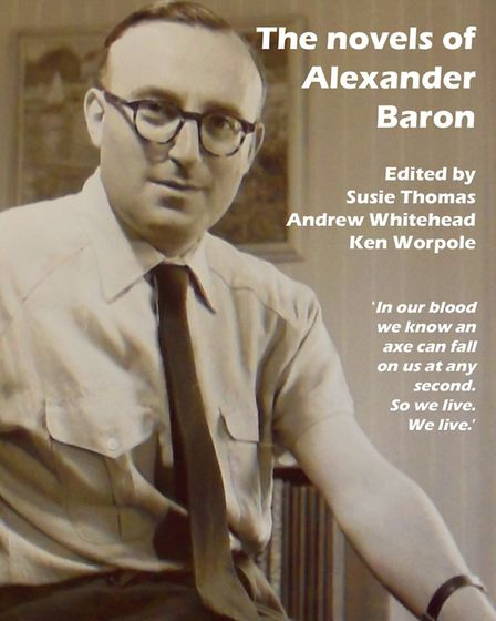 The front cover of the new book about Alexander Baron, So We Live.