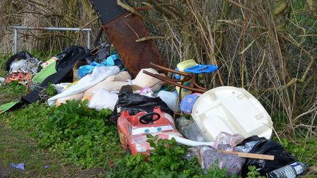 There have been 1,064 fly-tipping incidents in Waveney in the last year. Picture: Mick Howes