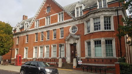 The former Hampstead Police Station which Abacus Belsize Primary School want to turn into a school.