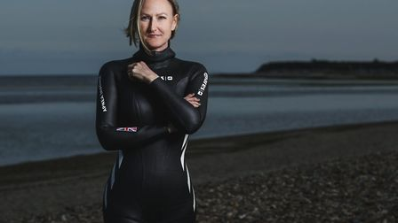 Helena Bourdillon is crowdfunding to take on the world at free diving. Picture: Simeon Quarrie