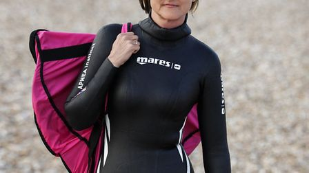 Helena Bourdillon has fought chronic depression to become a world-class free diver. Picture: Simeon