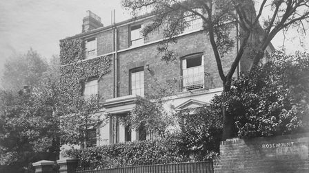 The Flask Walk home where Phyllis Floud lived with her husband in before the First World War. Pictur