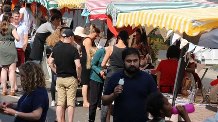 Hampstead Summer Festival's Big Far in 2018. Picture: HSF