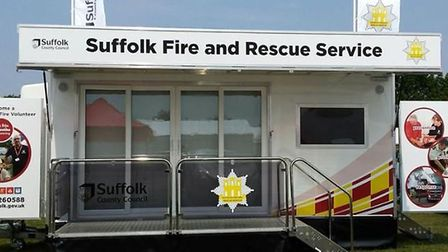 The new simulator experience for Suffolk Fire and Rescue Picture: PHIL GEESON