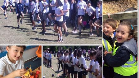 Pupils from Simon Marks Jewish Primary enjoy healthy activities and meals at school.