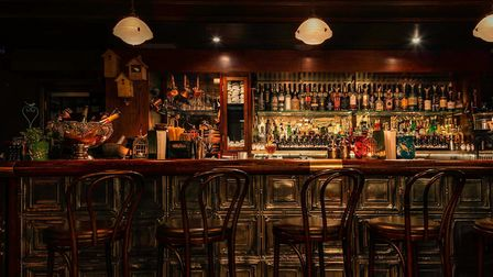Situated below the City Road, Nightjar is one of London's leading speakeasy-styled bars. Picture: Je
