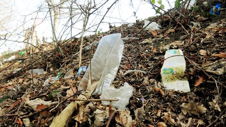 A campaign to try and reduce littering on Suffolk's trunk roads has begun. Picture: Nick Butcher