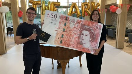 The launch of the £50 challenge at the Noah's Ark Hospice. Picture: Noah's Ark