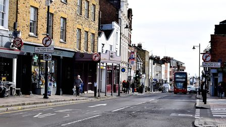 Highgate High Street looking south. Picture: Polly Hancock
