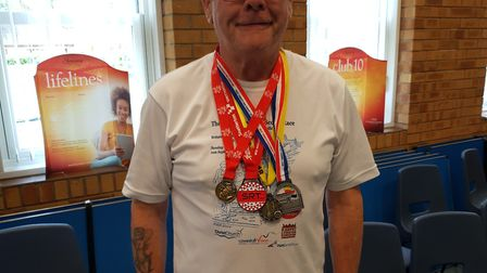 Mr Hierons has lost three stone, as well as beating his diabetes and high cholesterol. Picture: Cour