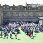 The 150th anniversary of St Peter's C of E Primary School, Maida Vale. Picture: St Peter's C of E Pr