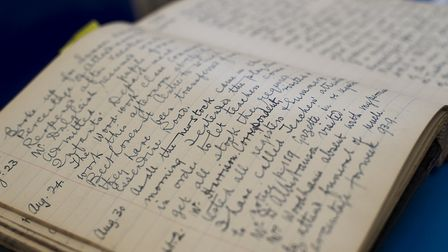 School log books from the late 19th and early 20th century formed part of an exhibition to mark the