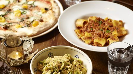 Fresh pasta dishes and stonebaked pizzas are a specialty at Terra Rossa, on Upper Street.