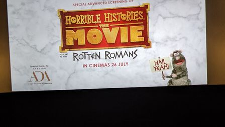 Horrible Histories was shown at the Crouch End Picturehouse almost two weeks before its full release