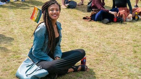 Listening to the speakers at UK Black Pride. Picture: Siorna Ashby