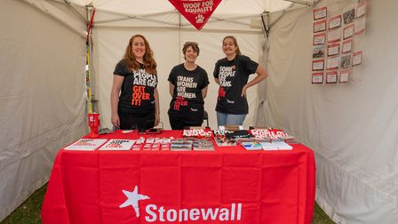 Stonewall at UK Black Pride. Picture: Siorna Ashby
