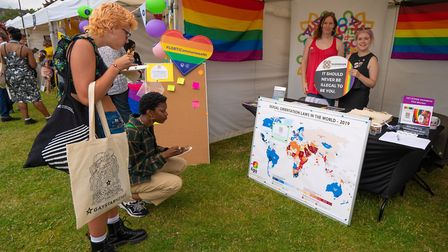 The Kaleidoscope Trust, working to uphold the human rights of lesbian, gay, bisexual and trans peopl