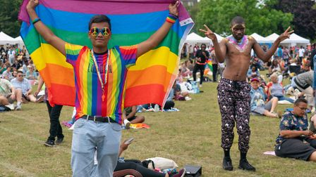 UK Black Pride in Haggerston Park. Picture: Siorna Ashby