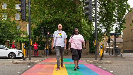 Hackney rolled out the rainbow carpet. Hackney mayor Philip Glanville and UK Black Pride co founder