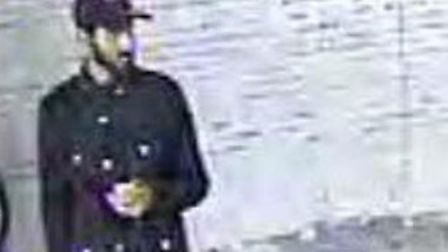 The man police want to speak to about the Colindale and Manor House station incidents