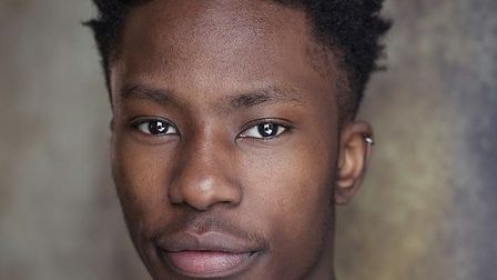 Moses Alexander, 21, a student at the NW3-based Royal Central School of Speech and Drama. Picture: M