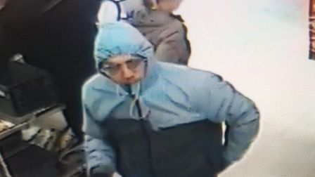 Do you recognise this man? Picture: Suffolk Police