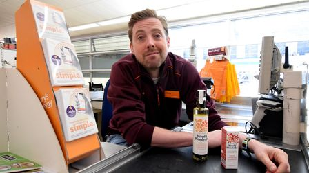 Highgate resident Ricky Wilson from Kaiser Chiefs launches his own brand of flavoured oils in Camden