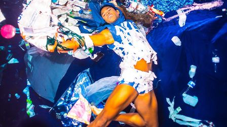 Dance For The Sea, Royal Ballet soloist Fernando Montano goes underwater at Kentish Town Swimming Po