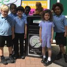 Washed and back home, Teddy at Grazebrook Primary School. Picture: Hackney Council