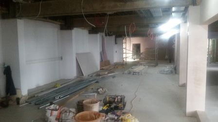 The main meeting room area. Picture: Conor Matchett