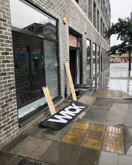 The e-skate shop Wick Boards was ram raided and its stock cleared out