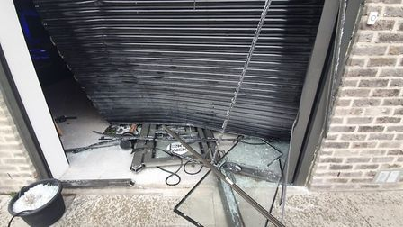 The e-skate shop Wick Boards was ram raided and £25,000 worth of stock was stolen