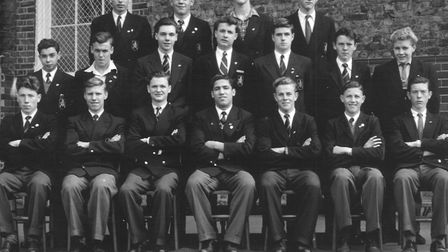 Prefects at Acland Burghley School in 1957. Picture: Acland Burghley School