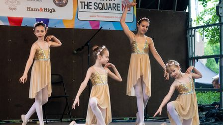 London Children's Ballet strutting their stuff on the main stage. Picture: Siorna Ashby