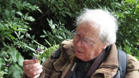 David Bevan will be leading a flora and fauna walk in the Parkland Walk. Picture: Simon Olley