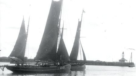 The J.G.C. LT639 vessel, which helped rescue 156 survivors when a trio of cruisers were torpedoed on