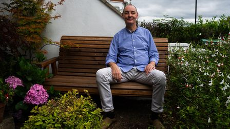 Tony Brookes wants to encourage Crouch End's gardeners to brighten up the area. Picture: Joshua Thur