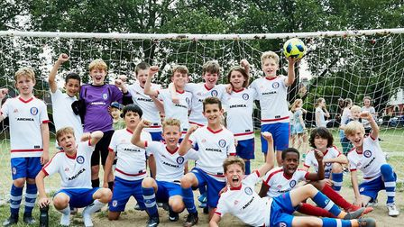 Players from the team which represented Millfields School who beat the team representing Rushmore 5-