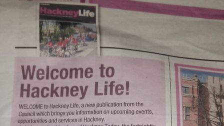 The council has brought out a new publication, Hackney Life, after a High Court judge ruled it could