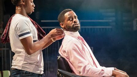 The Barber Shop Chronicles at The Roundhouse picture by Marc Brenner